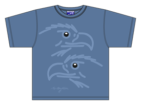 EAGLES BLUE T-SHIRT