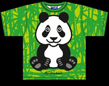Panda Bambus T Shirt