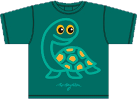 TURTLE GREEN T-SHIRT