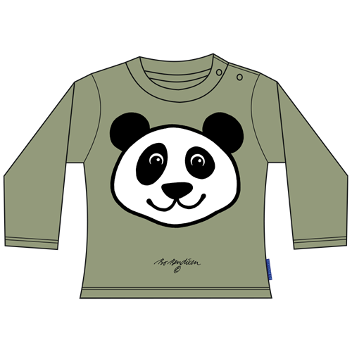 PANDA ARMY GREEN BLOUSE