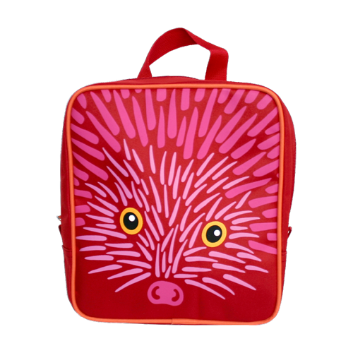HEDGEHOG BACKPACK RED