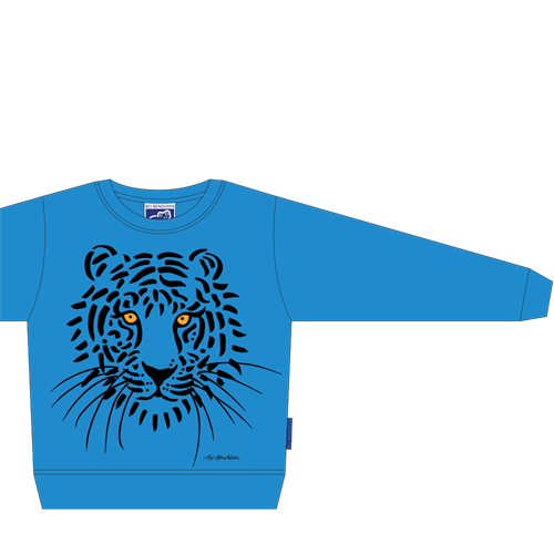TIGER SWEATSHIRT BLUE