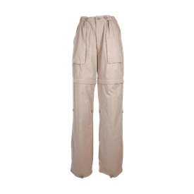 ZIP OFF PANTS LIGHT ARMY