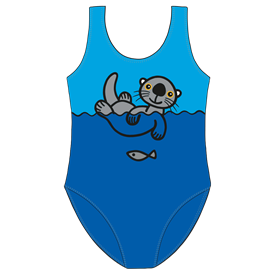 GIRLS SWIMSUIT - SEAOTTER