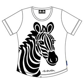 ZEBRA LADY T-SHIRT