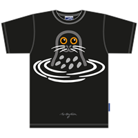SEAL BLACK T-SHIRT