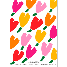 TULIPS POSTER</BR> 91 x 128 cm