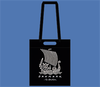 VIKING SHIP SHOPPER  BLACK