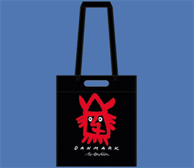VIKING HEAD SHOPPER  BLACK