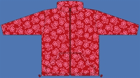 FLEECE JACKET RED
