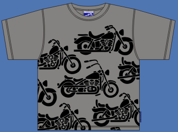 HARLEY GREY T-SHIRT