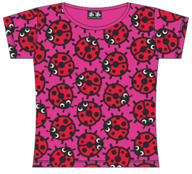LADYBIRDS PINK T-SHIRT