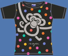 MONKEY DOT T-SHIRT