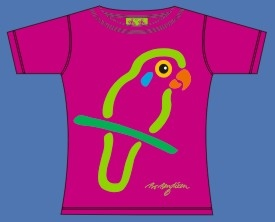 PRINCESS PARROT T-SHIRT