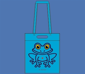 FROG SHOPPER  TURQUOISE