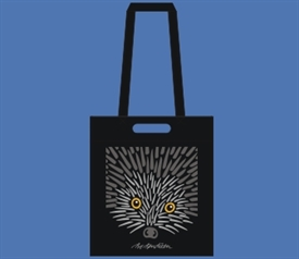 HEDGEHOG SHOPPER, BLACK