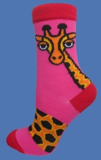 GIRAFFE PINK SOCKS </BR> FROM 6,80 - 12,06 EUR