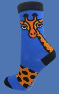 GIRAFFE BLUE SOCKS </BR> FROM 6,80 - 12,06 EUR