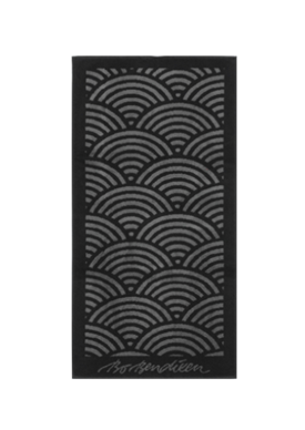 TOWEL SUNRISE BLACK </BR> 50 x 100 cm