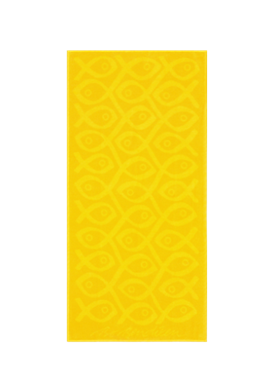 TOWEL YELLOW SUSHI </BR>50 x 100 cm