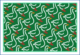 DUCKS POSTCARD
