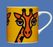GIRAFFE YELLOW  MUG