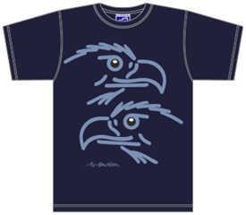 EAGLES DARKBLUE T-SHIRT