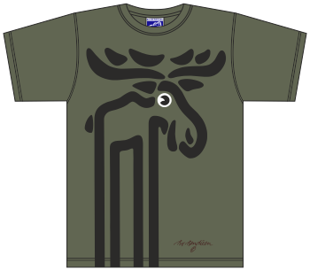 ELK ARMY GREEN T-SHIRT