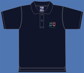 2 CATS POLOSHIRT, NAVY