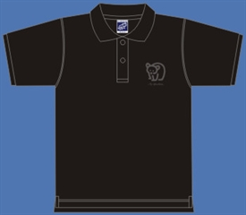BEAR POLOSHIRT BLACK