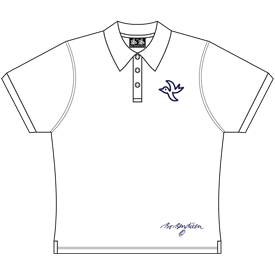 LADY POLOSHIRT WHITE