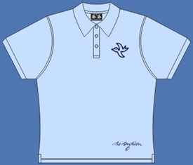 LADY POLOSHIRT LIGHTBLUE