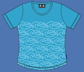 NORTH SEA T-SHIRT TURQUOISE