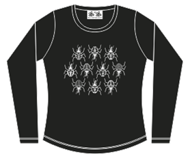 SILVER BUGS LADY LONG SLEEVE