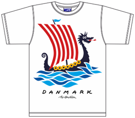 DRAGON SHIP T-SHIRT