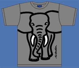 ELEPHANT GREY T-SHIRT