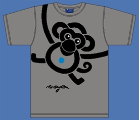 MONKEY GREY T-SHIRT