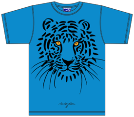 TIGER BLUE T-SHIRT
