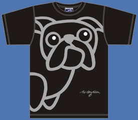 BULLDOG BLACK T-SHIRT