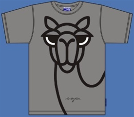 CAMEL GREY T-SHIRT