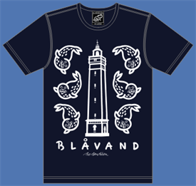 BLÅVAND - LIGHTHOUSE / SEALS NAVY